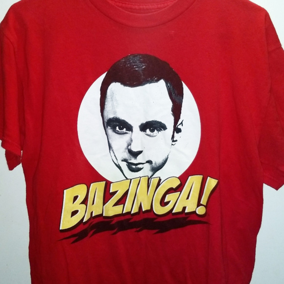 Other - BAZINGA - BIG BANG THEORY - Sheldon T-Shirt TV Tee